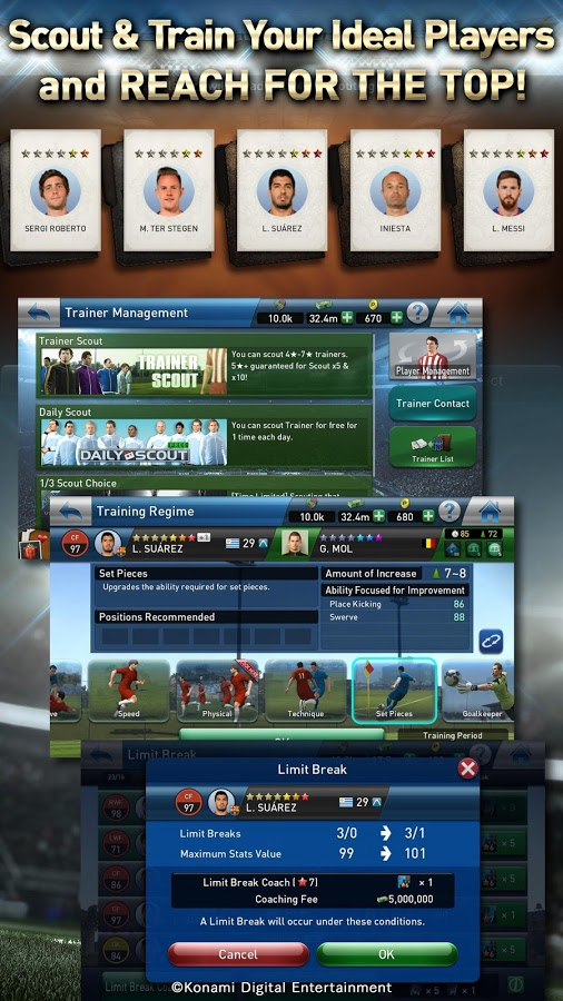 PES Club Manager 2 3 2 Apk For Android - Apk Five
