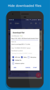 IDM+: Fastest download manager 3