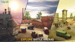 Striker Zone Mobile: Online War Shooting Games 4